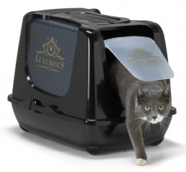 MAISON DE TOILETTE CHAT ''CAT'S FASHION'' LUXURIOUS
