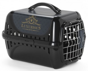 PANIER DE TRANSPORT POUR CHAT PORTE IATA ''LUXURIOUS''