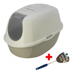 MAISON DE TOILETTE CHAT SMART CAT + PELLE METAL