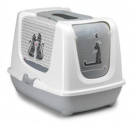 MAISON DE TOILETTE CHAT XXL ''CATS IN LOVE''