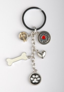 PORTE CLEFS DOG'S FASHION