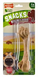 FRIANDISE/SNACK POUR GRAND CHIEN NYLABONE GOUT BISON