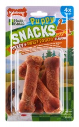 FRIANDISE/SNACK POUR CHIOT NYLABONE PUPPY DINDE & PATATE DOUCE