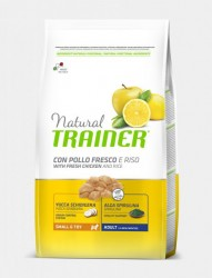 NATURAL TRAINER ADULT SMALL & TOY