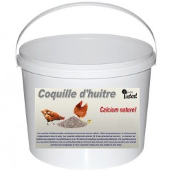 COQUILLES D'HUITRES BROYEES POUR POULES