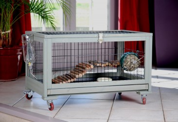 CAGE FURET-CHINCILLA-RAT D'INTERIEUR ''INLAND''