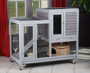CAGE FURET-CHINCHILLA-RAT D'INTERIEUR ''RESTLAND''