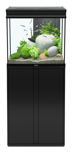 ensemble aquarium meuble 136 litres 39 39 elegance expert led 39 39 animaloo. Black Bedroom Furniture Sets. Home Design Ideas