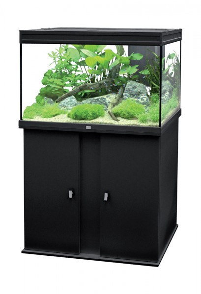 ensemble aquarium meuble 179 litres 39 39 elegance plus 39 39 noir animaloo. Black Bedroom Furniture Sets. Home Design Ideas