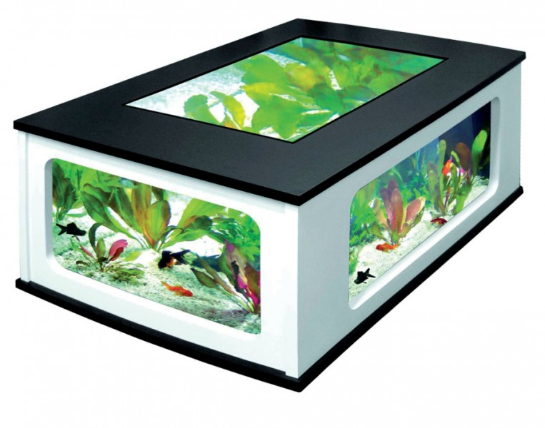AQUARIUM TABLE  AQUATABLE 300 LITRES  Animaloo -> Aquarium Table Basse Pas Cher