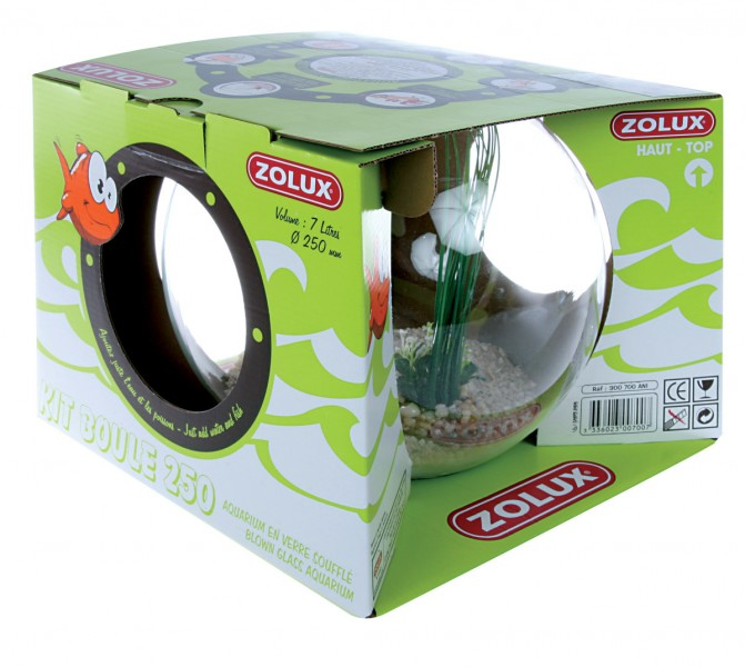 Aquariums poisson animaloo for Grand aquarium rond