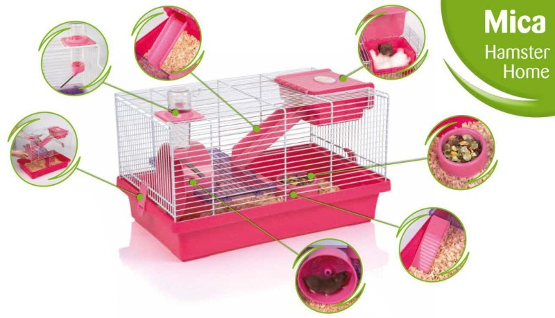 cage hamster mica animaloo. Black Bedroom Furniture Sets. Home Design Ideas