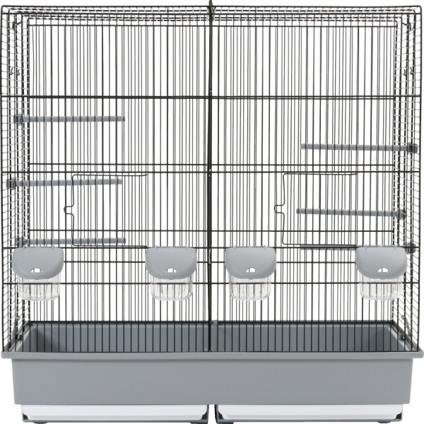 cage d 39 elevage pour oiseaux grand modele animaloo. Black Bedroom Furniture Sets. Home Design Ideas