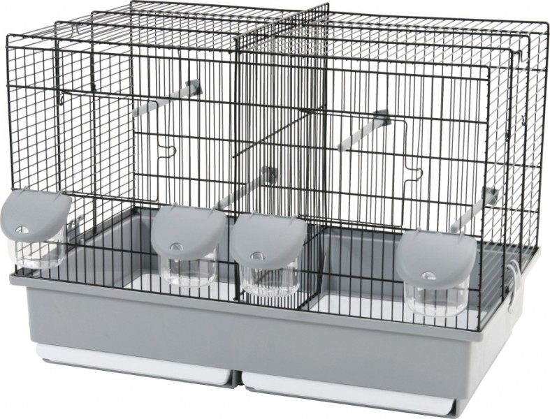 cage d 39 elevage pour oiseaux petit modele animaloo. Black Bedroom Furniture Sets. Home Design Ideas