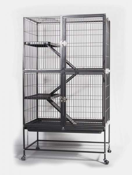 cage lapin cochon d 39 inde furet chinchilla rat et ou. Black Bedroom Furniture Sets. Home Design Ideas