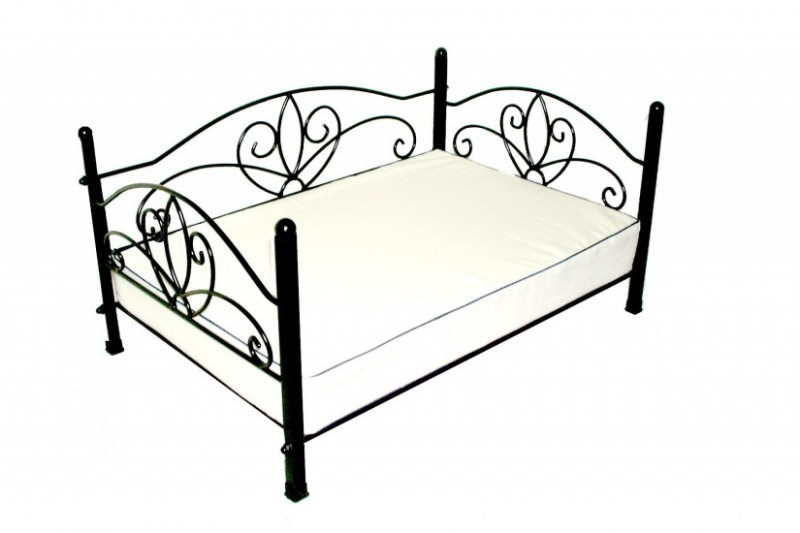 canap lit pour chien fa on fer forg animaloo. Black Bedroom Furniture Sets. Home Design Ideas
