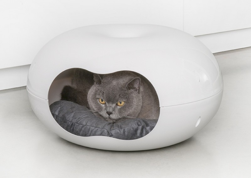 Couffin pour chat corbeille chat 39 39 doonut 39 39 animaloo - Lit pour chat design ...