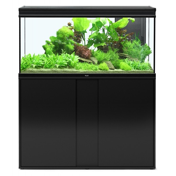 Ensemble aquarium meuble 293 litres 39 39 elegance expert for Meuble aquarium 120 cm