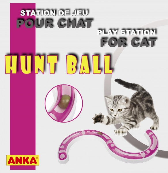 jouet chat hunt ball