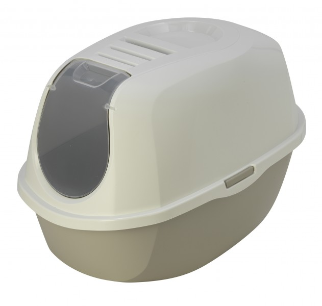 Maison de toilette chat pas chere smart cat animaloo - Bac a litiere fermee pour chat ...