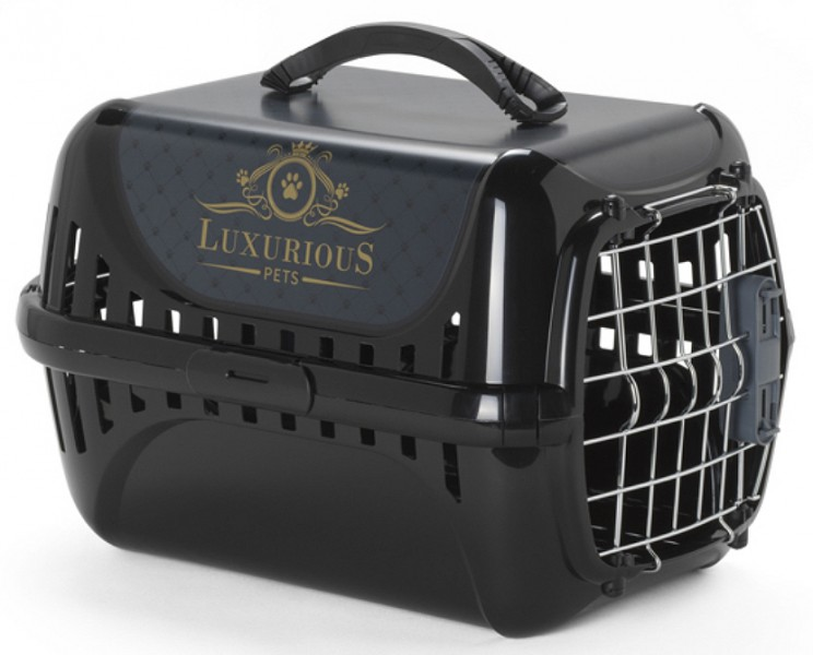 cage et panier de transport pour chien animaloo. Black Bedroom Furniture Sets. Home Design Ideas