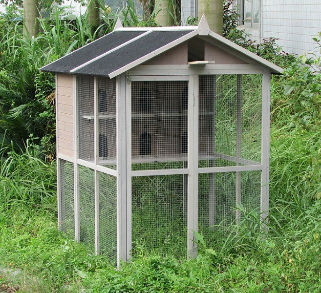 cages voli res en bois animaloo