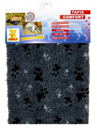 tapis chien confort 75 x 100 cm animaloo. Black Bedroom Furniture Sets. Home Design Ideas