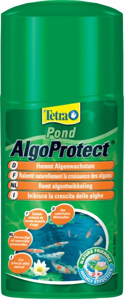 Traitement pour bassin tetra pond algoprotect 250 ml for Traitement bassin poisson