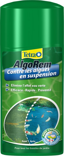 Traitement pour bassin tetra pond algorem animaloo for Traitement bassin poisson