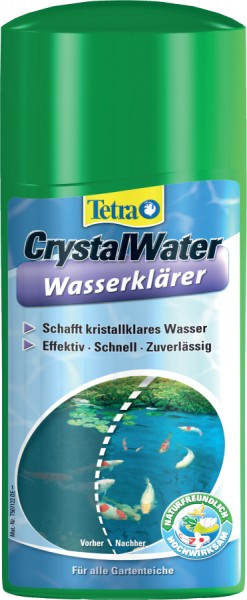 Traitement pour bassin tetra pond crystalwater 500 ml for Traitement bassin poisson