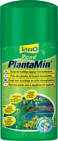 Traitement pour bassin tetra pond plantamin 500 ml animaloo for Traitement bassin poisson