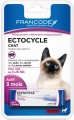PIPETTE ANTIPARASITAIRE POUR CHAT ''ECTOCYCLE'' 0.6 ml