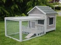 CAGE COCHON D'INDE BOIS ''ANIMALS COTTAGE'' GRIS